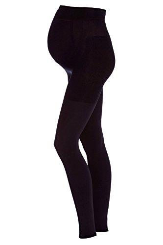 FALKE Damen Leggings 9 Months 80 Denier - Blickdicht, Matt, 1 Stück, Schwarz (Black 3009), Größe: S