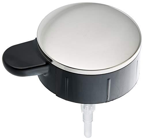 Menu Pumpspender für Seife, Stahl-Kunststoff, schwarz, 11 x 11 x 11 cm