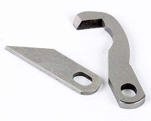 Gritzner Messersatz (1x Ober- und 1x Untermesser) passend für Brother 4234D, 3034D, 2104D, 1034DX