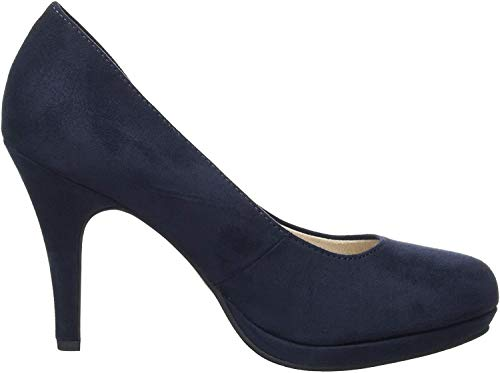 Tamaris Damen 1-1-22407-24 Pumps, Blau (Navy 805), 40 EU