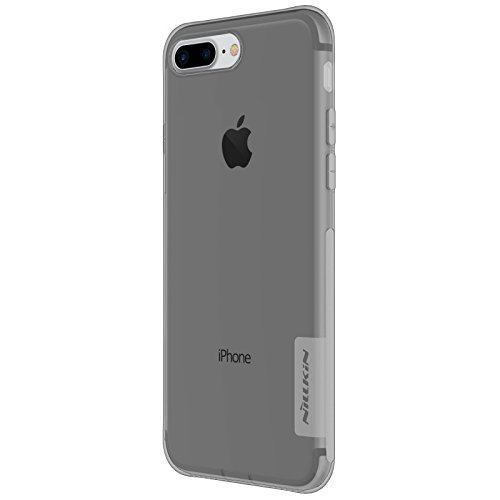 Nillkin Nature - Carcasa protectora trasera de gel / TPU para Apple iPhone 7 Plus / 8 Plus - Gris