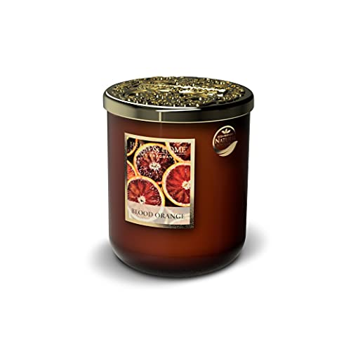 Heart & Home - Vela perfumada (jarra grande, 340 g, aroma a naranja sanguínea)