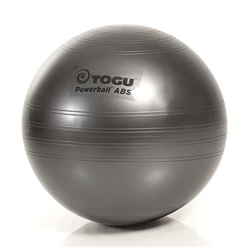 TOGU Powerball ABS - Pelota de Gimnasia (45 cm), Color Gris