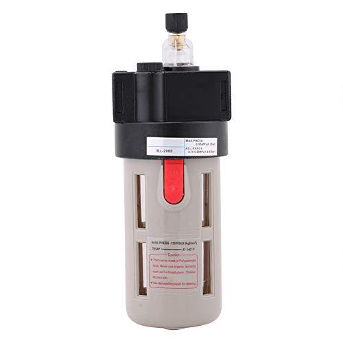 Lubricador de aceite equilibrado, 41~140 ℉ Dispositivo de desbordamiento Desagüe manual de 18 * 6,7 cm con metal para sistema neumático