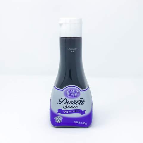 雪印メグミルク デザートソースブルーベリー 500g 【冷凍・冷蔵】 5個