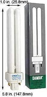 (Case of 20) Double Twin Tube Compact Fluorescent Lamps | F18DDTT/DE/835/G24Q-2 18 Watt Quad 4-Pin 3500K G24Q-2 Base