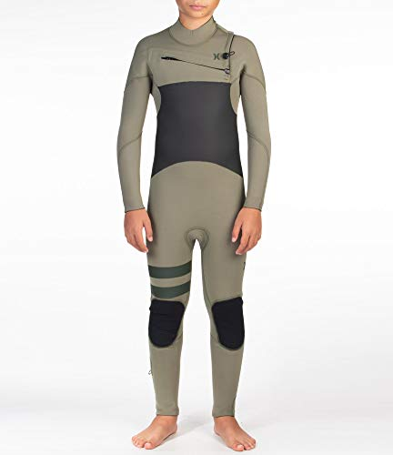Hurley B Advantage Plus 4/3 Full Suit Wetsuit, Niños, Twilight Marsh, 14