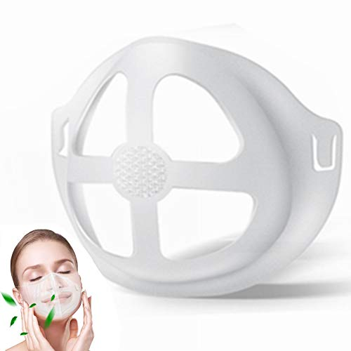 LOLAN 6PCS Upgrade Mask Inserts for Breathing Room-Silicone Cool turtle mask insert for cloth mask as seen on tv-Soft Breathe Cup-Mask Brace to Make Masks Fit Runing,Make up