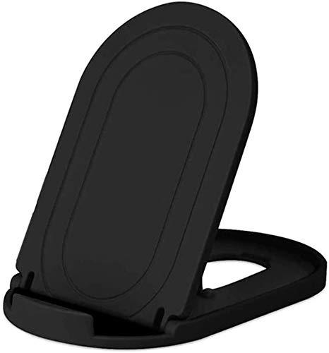 Stands Soporte de escritorio universal plegable para teléfono móvil con múltiples ángulos, color negro