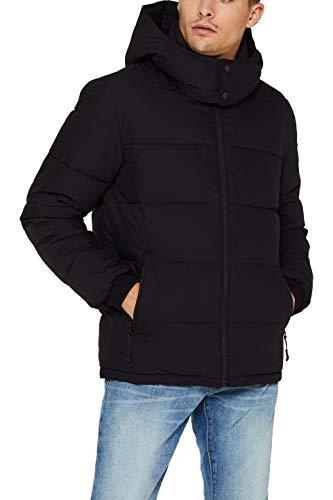 ESPRIT Herren 099EE2G011 Jacke, Schwarz (Black 001), X-Large (Herstellergröße: XL)