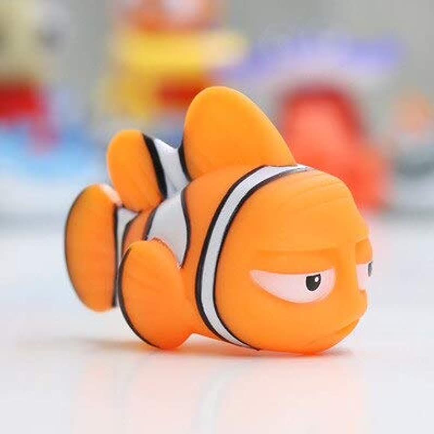 NTBN Water Spray Toy Baby Bath S Finding Dory Float Spray Water Squeeze S Soft Rubber Bathroom Play Animals Bath Figurefor Children