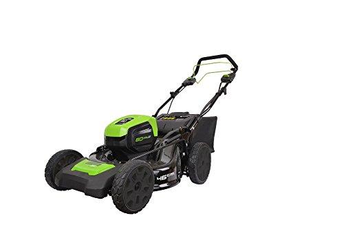 Greenworks Tondeuse à Gazon à batterie 80V