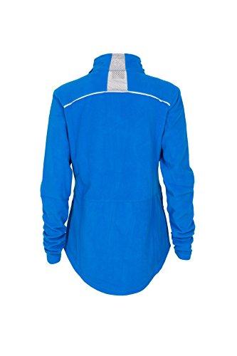 Gregster Damen Fleecejacke Sport-Jacke warm Polarfleece, blau, XS - 2