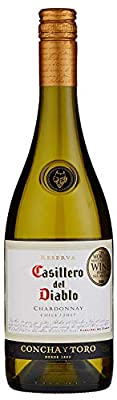 Casillero del Diablo Reserva Chardonnay Wine, 75 cl, (Case of 6)