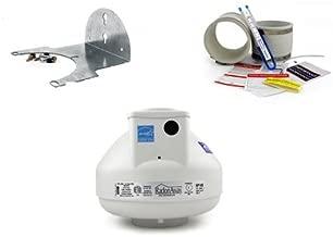 RadonAway RP145 Radon Fan + Installation Kit + Mounting Bracket