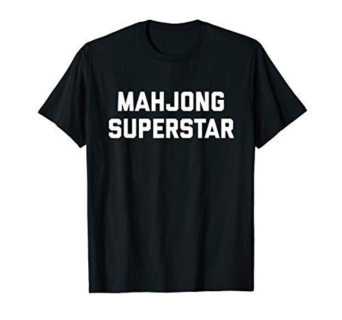 Mahjong Superstar Mahjong Players Gift Mahjongg Games T-Shirt