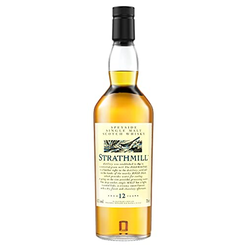 Strathmill 12 Jahre Single Malt Scotch Whisky 70cl – Flora & Fauna Collection