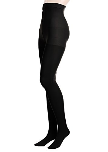 GLAMORY Damen Stützstrumpfhose Vital 70 DEN, Schwarz (Schwarz), XX-Large (Herstellergröße: 2XL-(52-54))