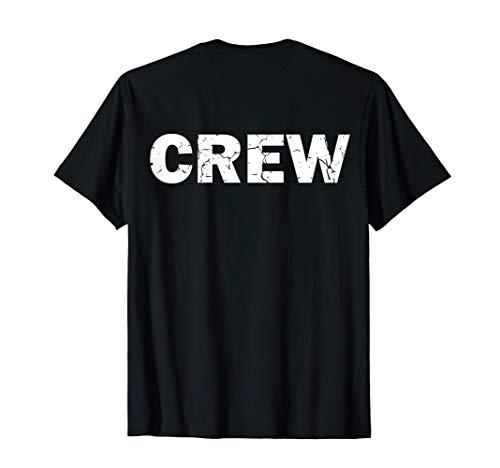 Camiseta CREW para técnicos ligeros Personal Seguridad Camiseta