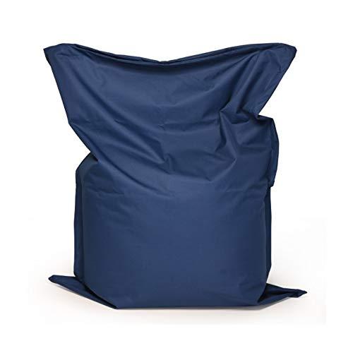 Große Faule Sofa-Abdeckung Stuhl, Oxford Cloth Lounge Chair Sitzsitzsack Kissen Hocker Tatami 180x140cm (Color : Blue)