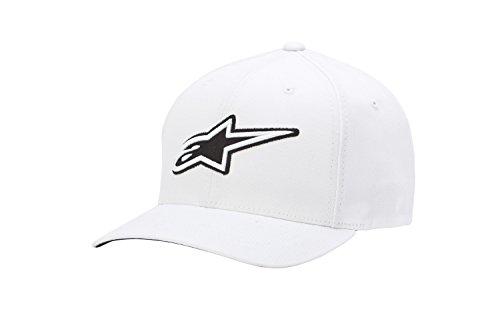 Alpinestars Corporate - Casquette de Baseball - Homme - Blanc (White) - Medium (Taille fabricant: Small/Medium)