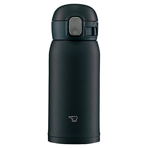 象印 (ZOJIRUSHI) 水筒 ワンタッチ ステンレスマグ シームレス 0.36L ブラック SM-WA36-BA