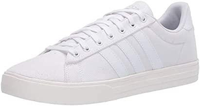 adidas Men's Daily 2.0 Skate Shoe, White, 13 M US Big Kid