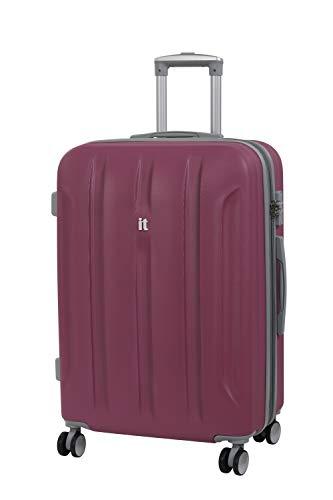 it luggage Proteus 8 Wheel Hard Shell Single Expander Suitcase with TSA Lock Koffer, 71 cm, 110 liters, Pink (Malaga)