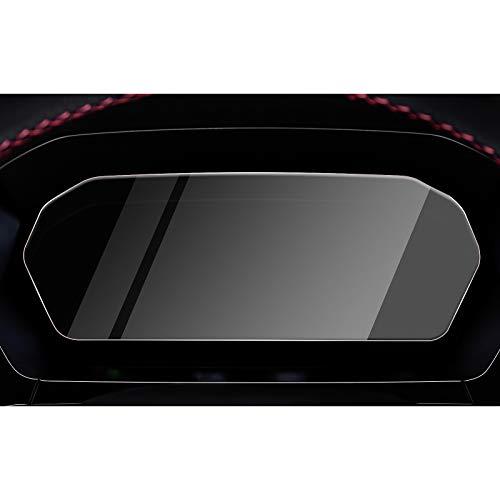CDEFG Aud-i A3 Sportback 2020 Protector de Pantalla de Vidrio Templado 10,25 pulgadas HD Auto 9H GPS Dashboard Tablero película protegida Glass Accesorios