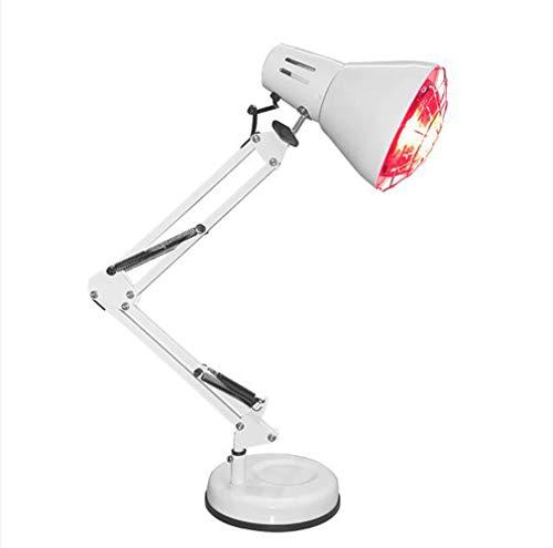 Infrarot-Lampe, Wärmetherapie, 150 W, Infrarot-Lampe auf schwenkbarem Fuß zur Linderung von Muskelschmerzen, Akne, Rückseite, Ischiatik, Spondylose Halswirbelsäule