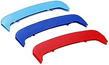 Maiqiken 3D Coche Rejillas Frontales Cover Hebilla para 3 Serie E46 316i 318i 320i 325i 328i 330i 323i 2002-2005(11 Rejillas un Lado) ABS 3 Colores