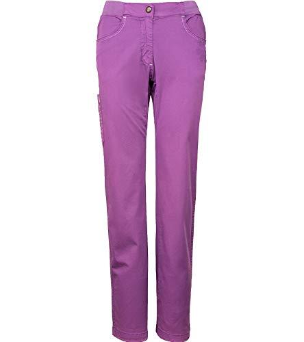 Chillaz Jessy Kletterhose Funktionelle Damen Outdoor-Hose Sport-Hose Klettersport-Ausrüstung mit elastischem Bund Violett, Größe:30