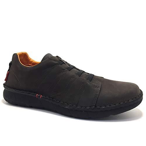 ZEN 7729, Zapatos con Cordones Elasticos, para Hombre, Color Marron - FOSCO Talla: 39
