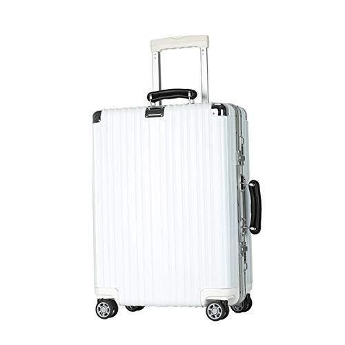 XIANGSHAN Estuche de Trolley ABS + PC Conveniente, Elegante Maleta de Estudiante, Ruedas de Viaje de Viaje, 20'22' 24'26' (Size : 22inch)