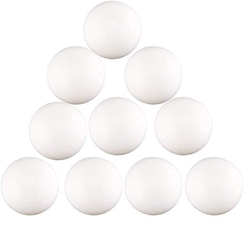 Kaptin 150 bolas de plástico de 40 mm para pong de cerveza, pelota de tenis de mesa, mesas de pong de cerveza, juegos de ping-pong