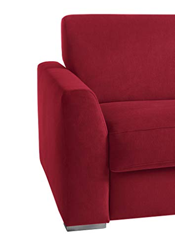 REPOSA RAZOLLI Sofas, Stoff, Rot, 182 x 98 x 92 cm