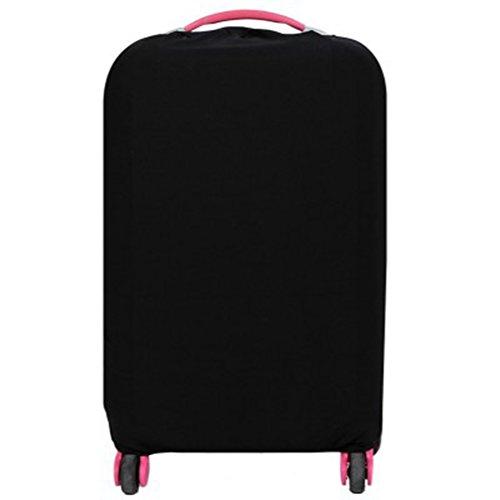 WINOMO Funda de maleta Cubierta Maleta de Equipaje con 26-30 pulgadas (Negro)