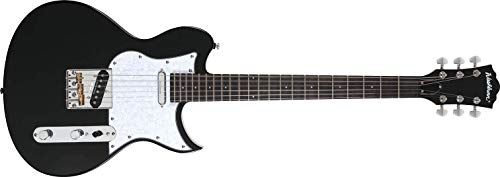 Washburn Idol T160 Duncan Designed Stacked Tele Electric Guitar, 22 Frets, Hard Rock Maple Neck, Ovangkol Fretboard, Basswood Back and Sides, Gloss Black