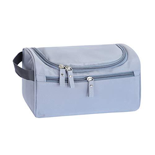 Sac de Rangement Dragonaur - Durable - Pratique - Grande capacité - Portable - Sac de Rangement de Toilette - Crochet de Voyage pour cosmétiques Grey