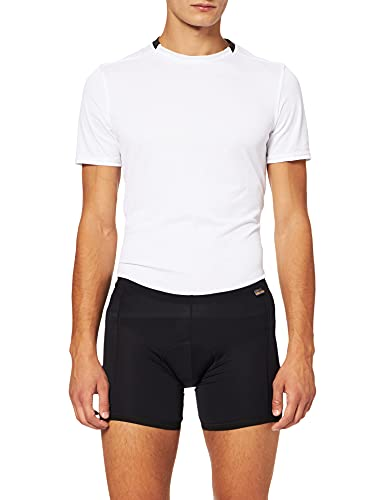 Gonso Herren Rad-u-Pants Benito Bike Men, Black, XL