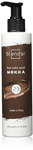 Blendor - Mascarilla colorante hidratante con pigmentos directos, 200 ml - Mokka (.23)