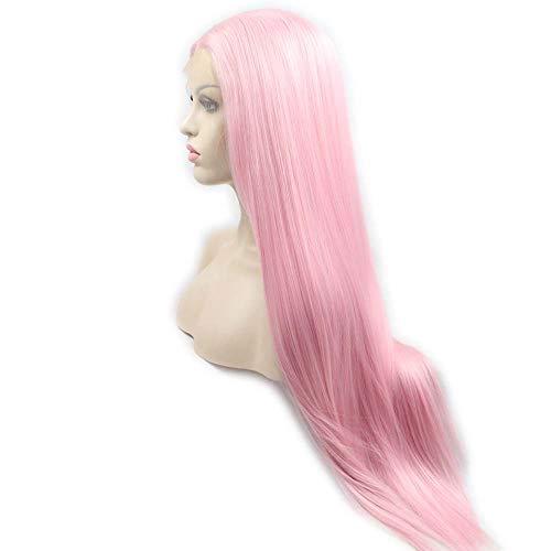 pelucas largas rosas