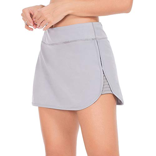 ZEALOTPOWER Athletic Skorts for Women Running Skirts Active Exercise Tennis Golf Sports