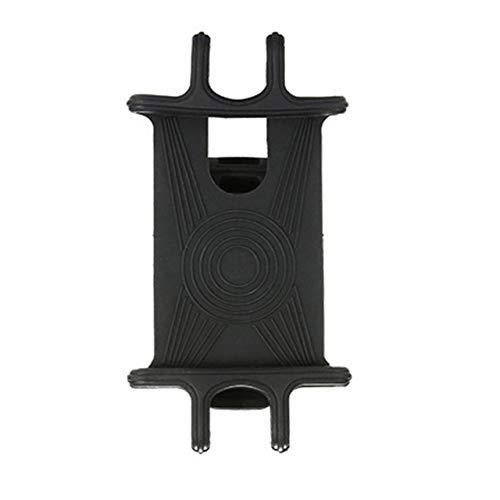 SZXCX Soporte para teléfono de Bicicleta Universal Ajustable de Silicona Bie Soporte para teléfono con GPS/Mapa/Hora/Música para teléfonos Inteligentes