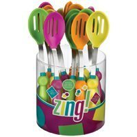 Oneida 5884952 9.5 In. Silicone Slot Spoon