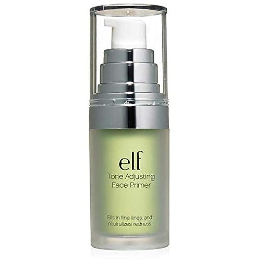 保持する悩みラメ[Elf ] エルフ。緑の402を中和トーン調整顔プライマー - e.l.f. Tone Adjusting Face Primer Neutralizing Green 402 [並行輸入品]