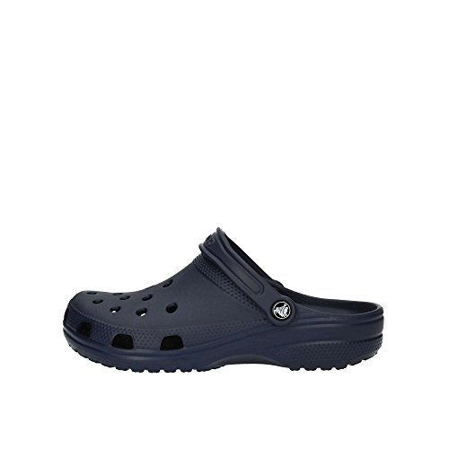 Crocs Classic Clog|Comfortable Slip on Casual Water Shoes, Navy, 13 Women/11 Men