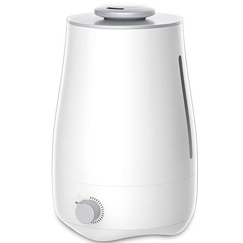 Top Filling luchtbevochtiger Cool Mist luchtbevochtiger voor slaapkamer met ultrasone geluid, fluisterstil, gemakkelijk te reinigen max. 24 uur gebruik 4 l grote capaciteit voor droge hoesten, neus, huid en ogen