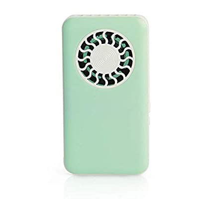 SaveStore Newest Summer Mini Fan USB Rechargeable Handheld Fans Portable Small Fan Portable Hand held Mini Air Conditioner Cooler Fan