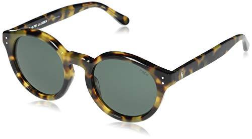 Ralph Lauren POLO 0PH4149 Gafas de sol, Spotty Havana, 49 para Mujer